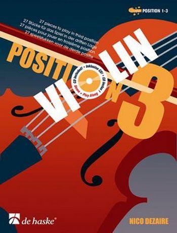 Dezaire, Nico - Violin Position 3 (+CD) :