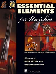 Essential Elements Band 1 (+CD): für Streicher Partitur
