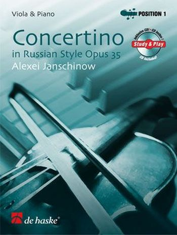 Janschinow, Alexej - Concertino in Russian Style op.35 (+CD) :