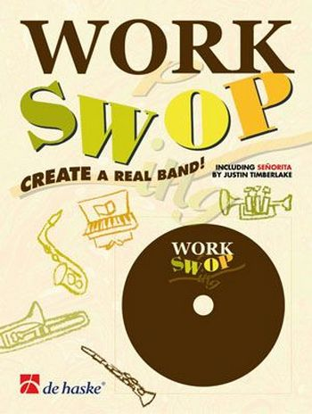 Work swop (+CD): for clarinet Create a real band