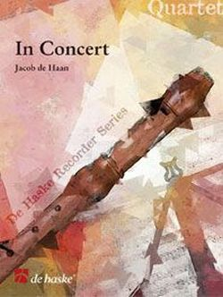 In concert: quartet for 4 recorders (SATB) score and parts