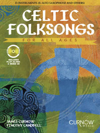 Celtic folksongs (+CD): für Es-Instrumente (Altsaxophon etc.)