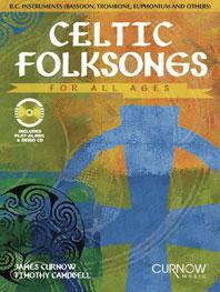 Celtic folksongs (+CD): für C-Bass-Instrumente (Fagott/Tuba/Posaune/Euphonium etc.)
