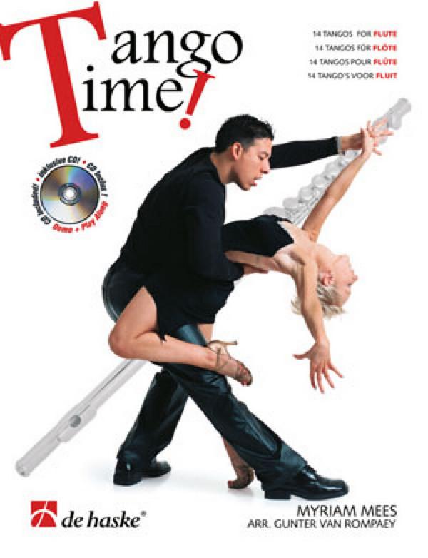 Tango Time (+CD): für Flöte