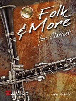 Folk and more (+CD): for clarinet