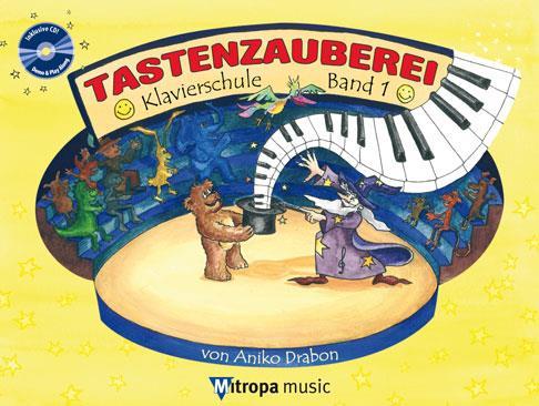 Tastenzauberei Band 1 (+CD) : für Klavier   - Coverbild-Thumbnail