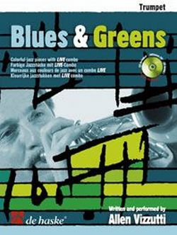 Blues and Greens (+CD): für Trompete