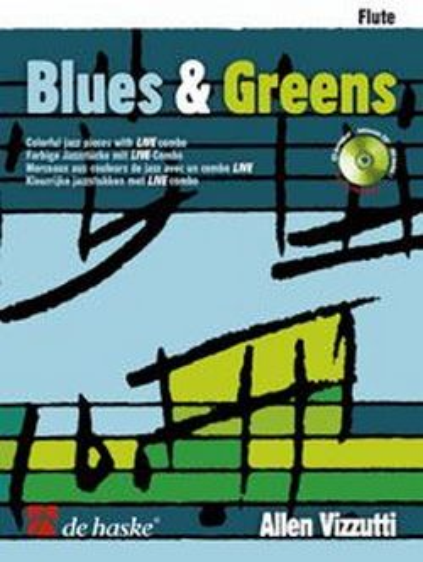 Blues & Greens (+CD): für Flöte
