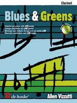Blues & Greens (+CD): für Klarinette