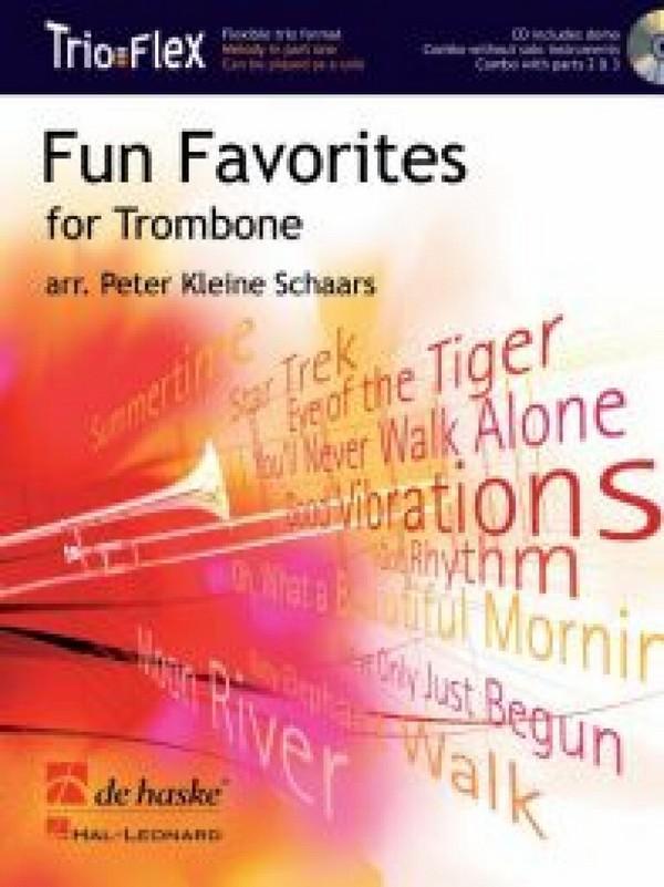 Fun Favorites for Trombone (+CD): für 1-3 Posaunen