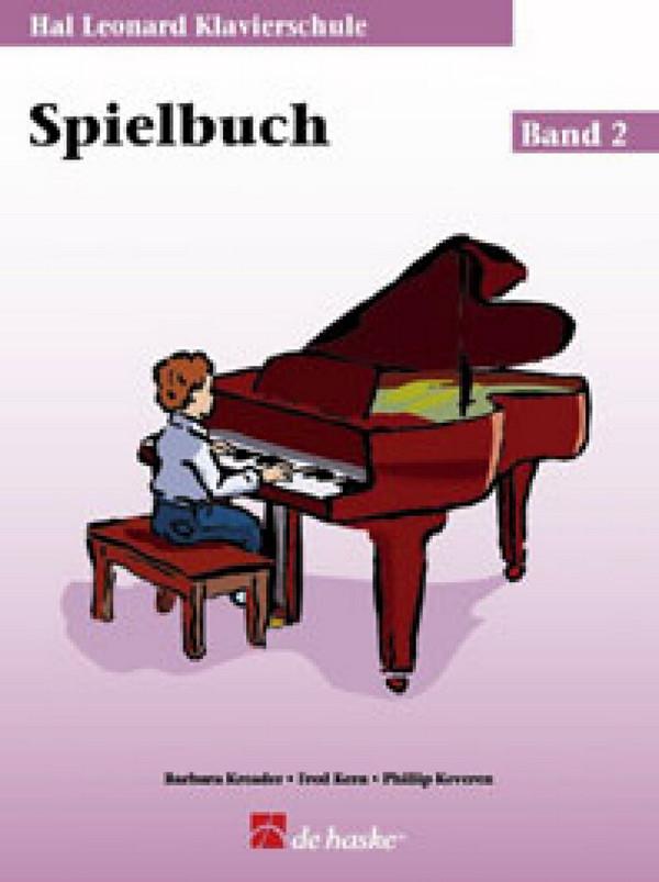 Kreader, Barbara - Klavierschule Band 2 - Spielbuch (+CD)
