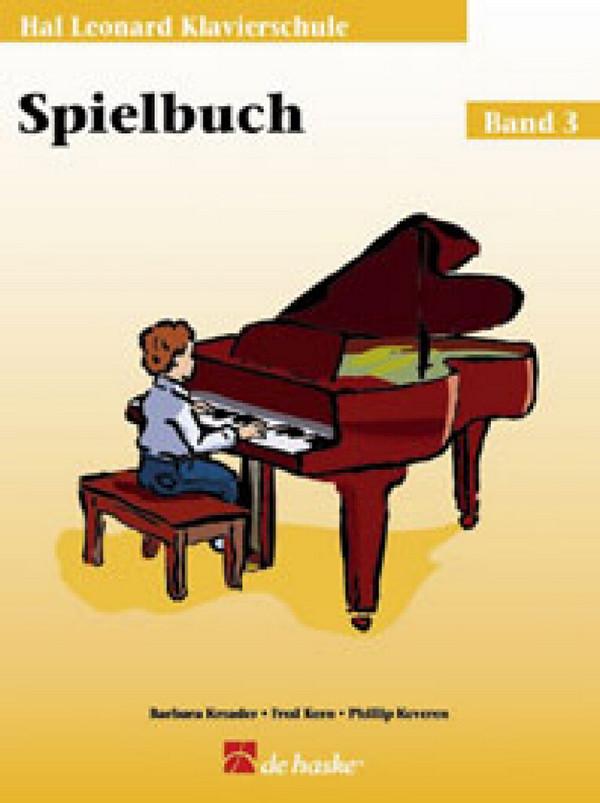 Kreader, Barbara - Klavierschule Band 3 - Spielbuch (+CD)