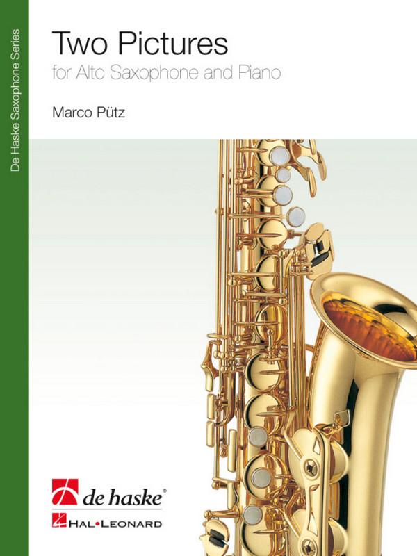 2 Pictures: für Altsaxophon und Klavier