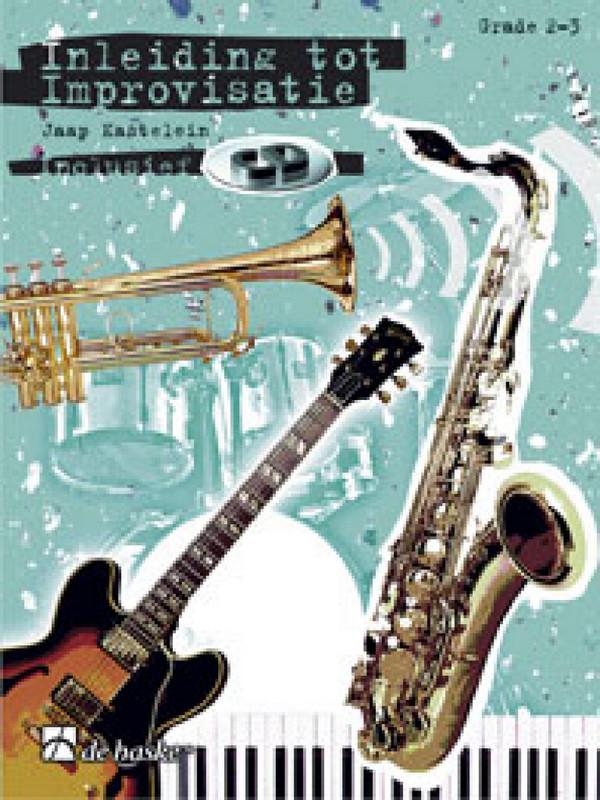 Inleiding tot improvisatie vol.1 (+CD) grade 2-3: voor instrumente in C (solseutel) (nl)