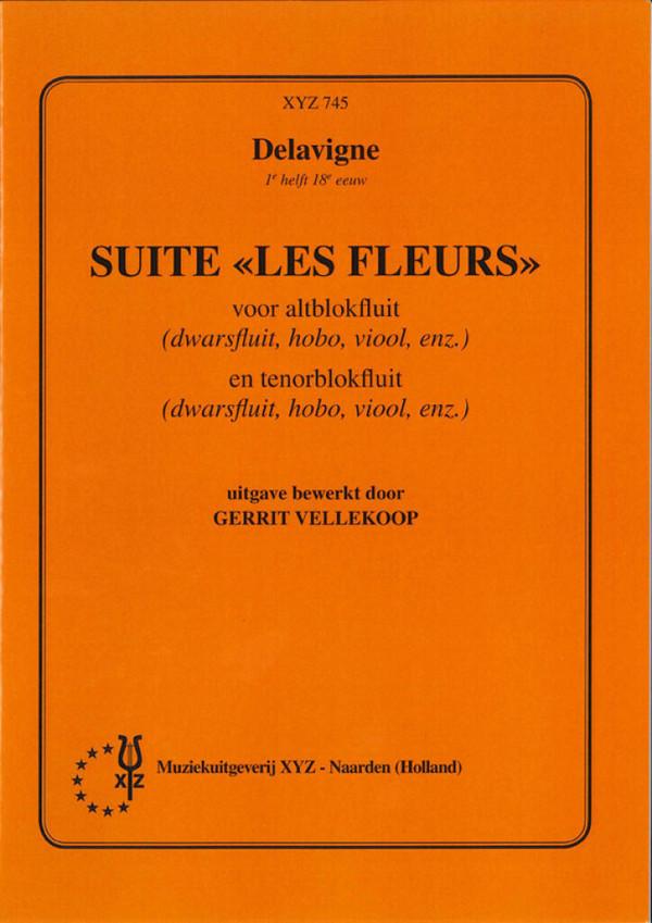 Lavigne, Philibert de - Suite Les fleurs :