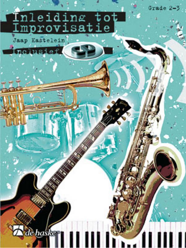 Inleiding tot improvisatie vol.1 (+CD) grade 2-3: voor instrumente in Es (nl)