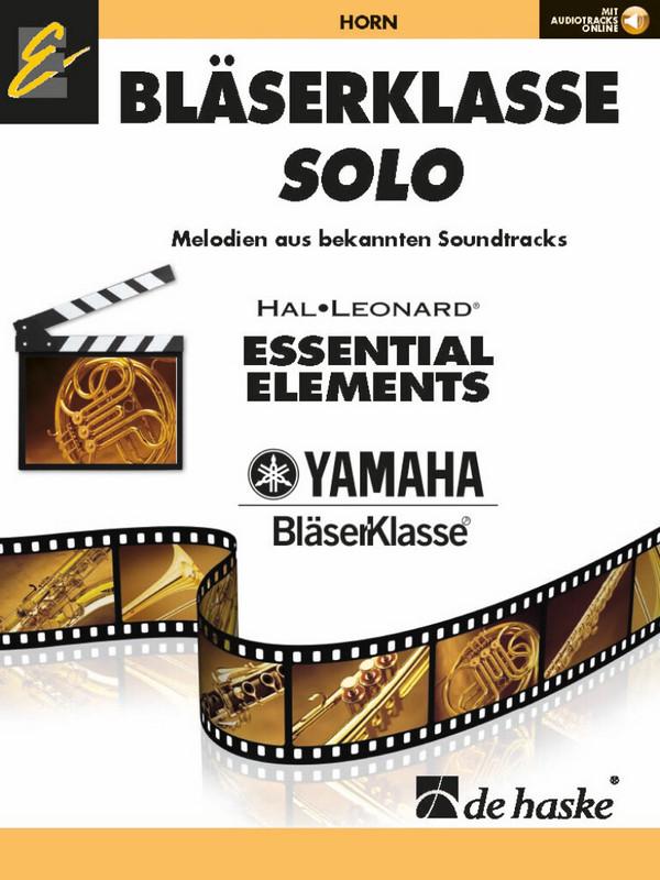 Bläserklasse Solo (+online Audiotracks): für Blasorchester (Bläserklasse)