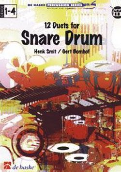 12 Duets for snare drums