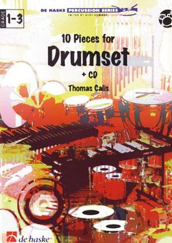 10 pieces for drumset (+CD)