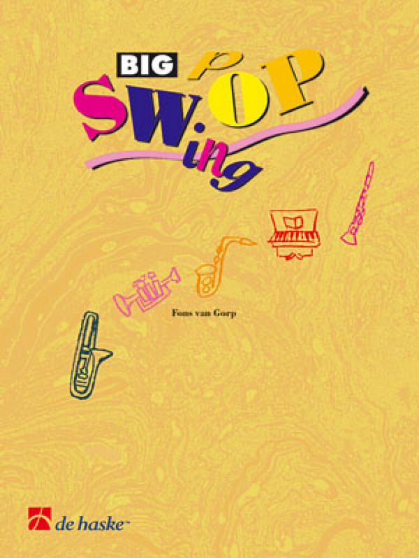 Big Swing Pop Band 5 (+CD): für Posaune in C (Baßschlüssel) oder