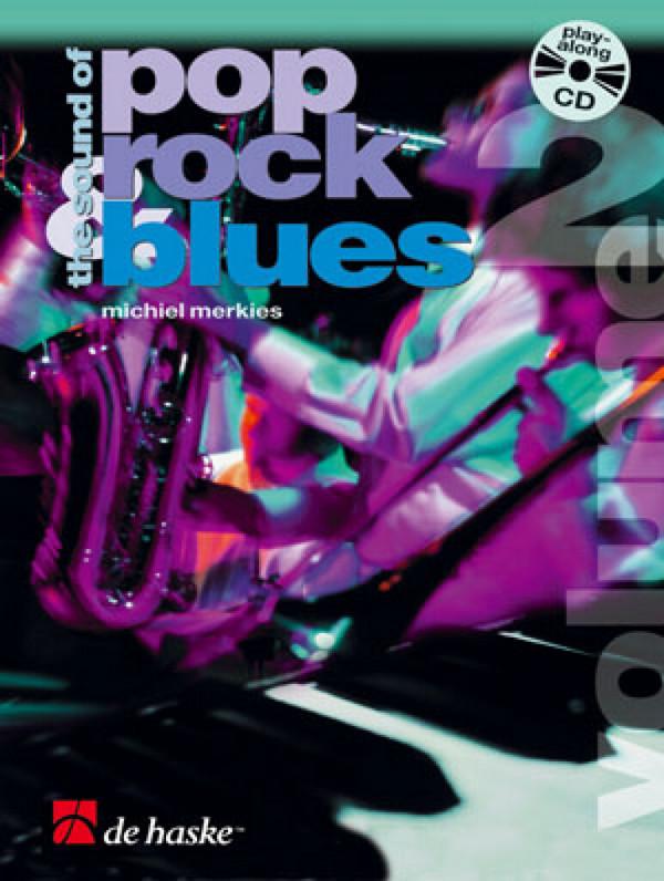 The sound of pop rock blues Band 2 (+CD) für Instrumente in B