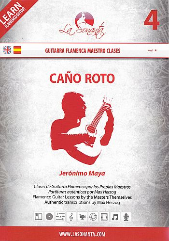Cano roto (+DVD): for guitar/tab (sp/en)