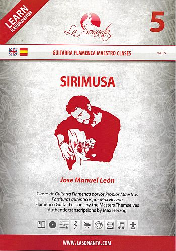 Sirimusa (+DVD) for guitar/tab (sp/en)