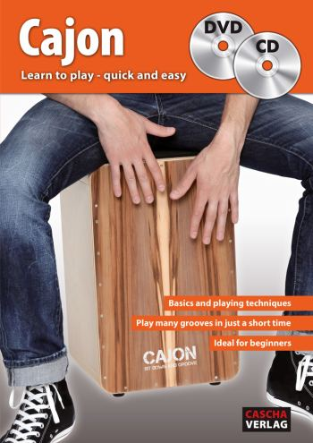 HH1702 Learn to play quick and easy (+CD +DVD): for cajon (en)