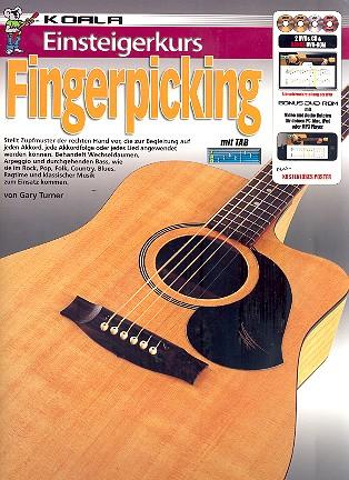 Einsteigerkurs Fingerpicking (+2 DVD\