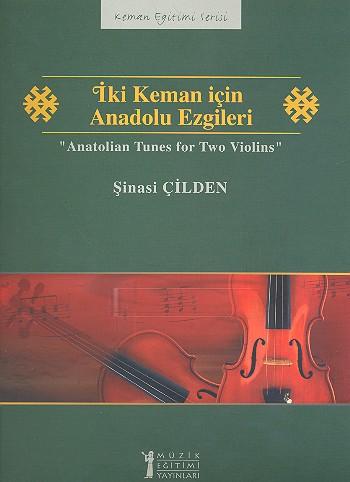 Anatolian Tunes: for 2 violins score