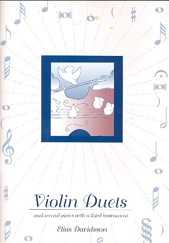 Davidsson, Elias - Duette : für Violinen, teilweise