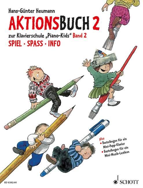 Heumann, Hans-Günter - Piano-Kids Band 2 komplett :