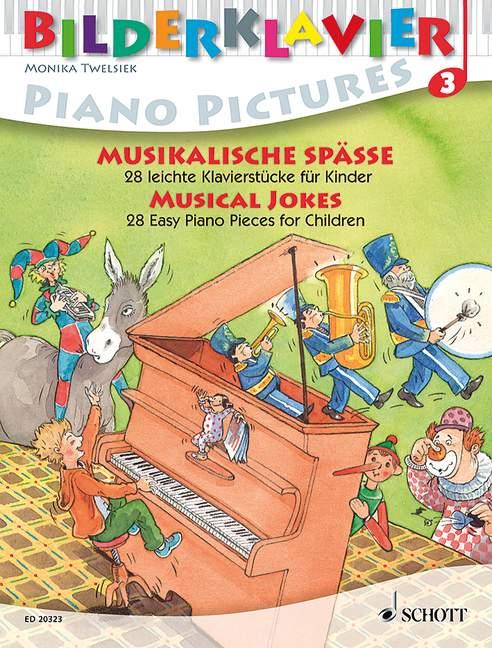 - Bilderklavier Band 3 - Musikalische Späße :