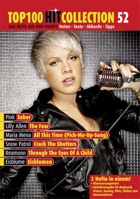 Top 100 Hit Collection Band 52: für Gesang, Klavier, Keyboard