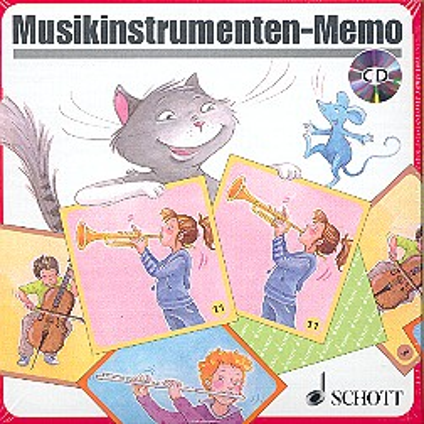 - Musikinstrumenten-Memo (+CD)