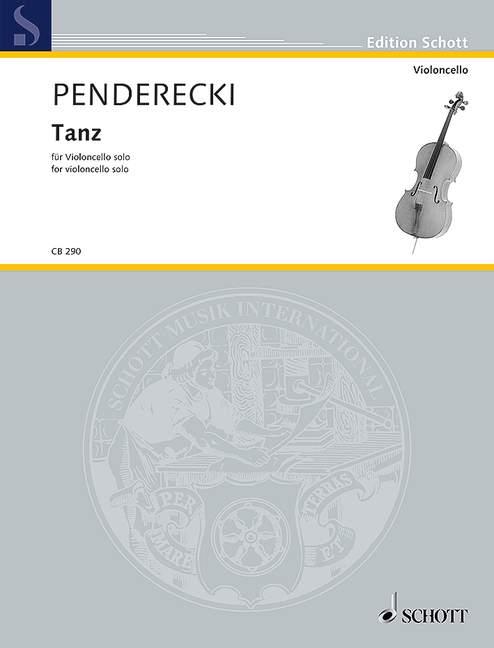 Tanz: für Violoncello