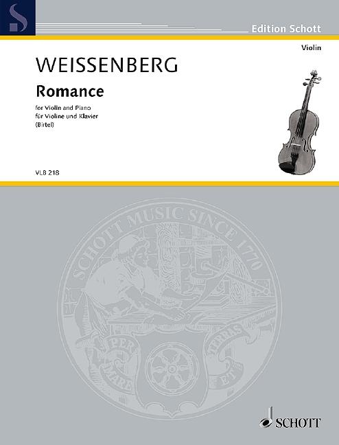 Romance: für Violine und Klavier