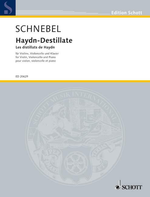 Haydn-Destillate: für Violine, Violoncello und Klavier