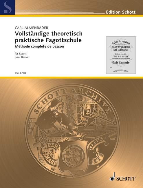 Vollständige theoretisch praktische Fagottschule (dt/fr)