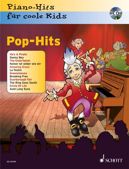 Pop-Hits für coole Kids (+CD): für Klavier Piano-Hits