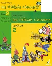 Die fröhliche Klarinette Band 2 - Paket