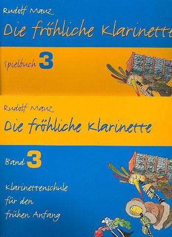 Die fröhliche Klarinette Band 3 - Paket