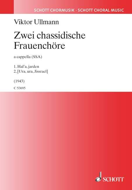 2 chassidische Frauenchöre: für Frauenchor a cappella
