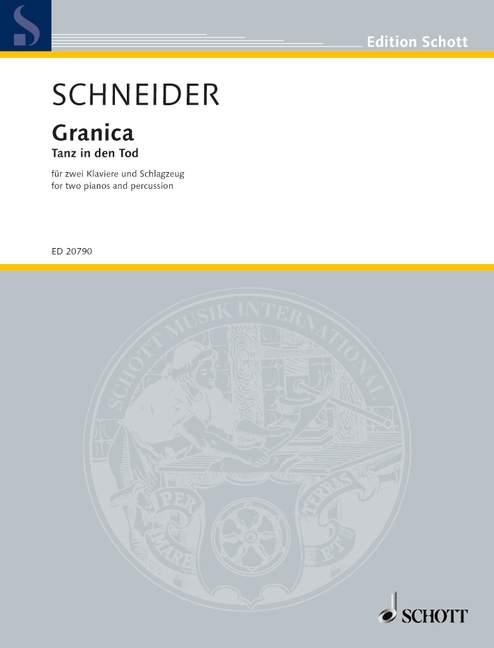 Granica - Tanz in den Tod: für 2 Klaviere und Schlagzeug