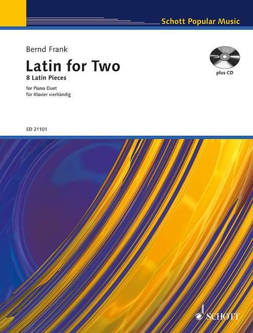 Latin for two (+CD): für Klavier zu 4 Händen Spielpartitur