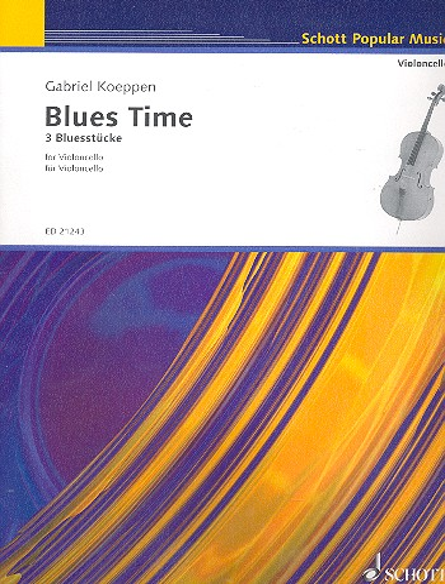 Blues Time: für Violoncello