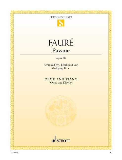 Fauré, Gabriel Urbain - Pavane op.50 : für Oboe und Klavier