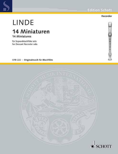 Linde, Hans Martin - 14 Miniaturen :