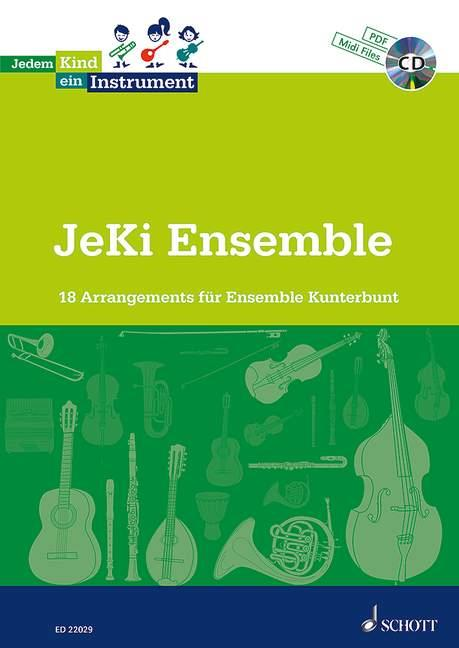 - JeKi Ensemble (+mp3-CD +Midifiles) :