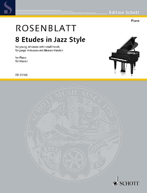 8 Etudes in Jazz Style: für Klavier